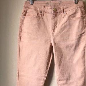 Seven7 NWOT Pale Pink Raw Hem Jeans AD